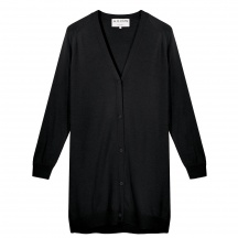 THE MERINO WOOL LONG CARDIGAN
