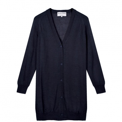 THE MOHAIR MIX LONG CARDIGAN