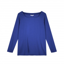 THE JERSEY VISCOSE, SQUARE NECK - Long Sleeve