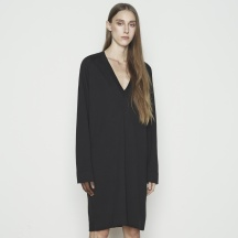 WOMENS V-NECK DRESS