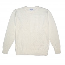 MEN´S CABLE BOX SWEATER